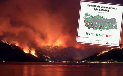 Сводка пожаров: 7-й день и отключение электричества