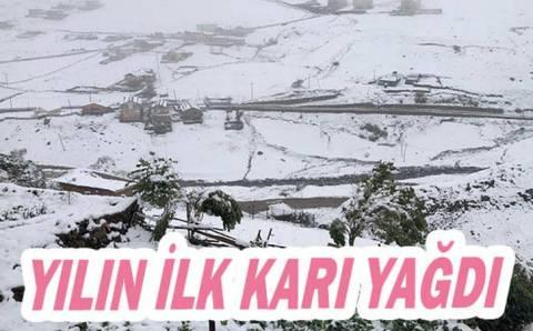 Снег выпал сразу в нескольких провинциях Турции