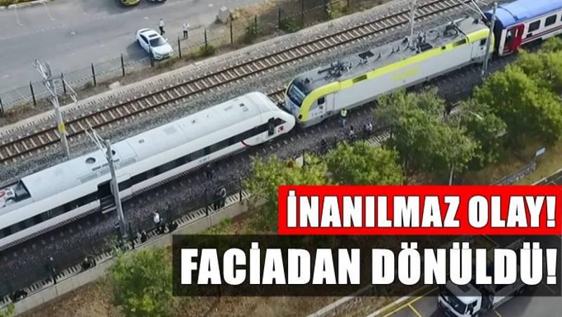 Катастрофы удалось избежать: В Стамбуле столкнулись два поезда