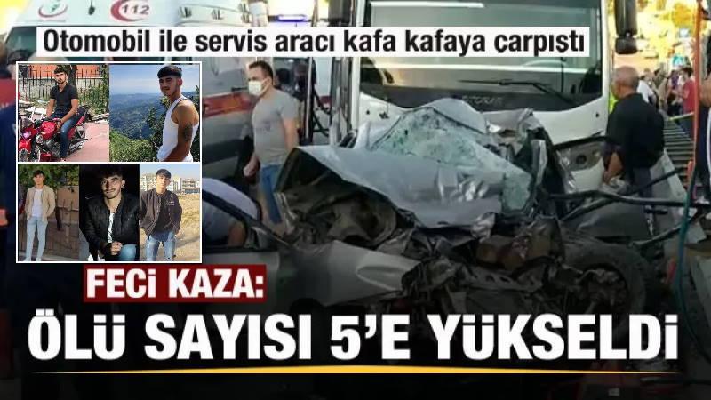Авария в Анкаре унесла 5 молодых  жизней