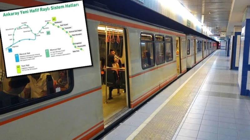 Мэрия Анкары нашла деньги на новую ветку метро