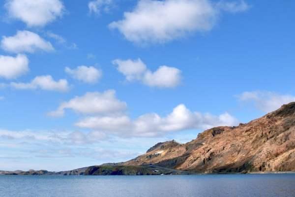 ciel bleu islande