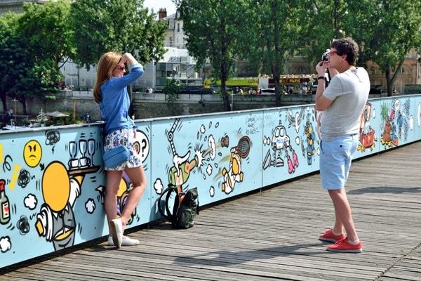 amoureux pont des arts