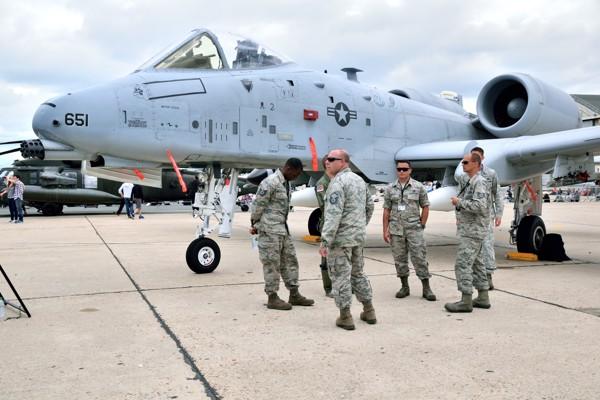 pilotes avion de chasse américain