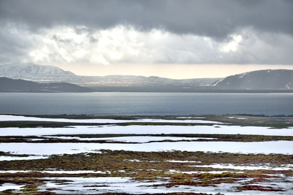 sur la route thingvellir