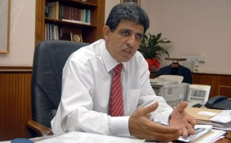 Cyprus Interior Ministare Mr Neoclis Sylikiotis