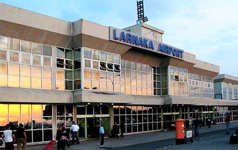 Old Larnaca airport building