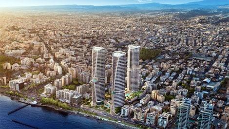 Limassol high-rise Cybarco trilogy