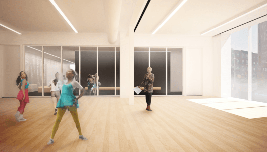 Dancewave Capital Project - Studio 2 render