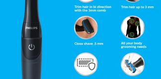 4 reasons why Philips BG1025/15 Showerproof Body Groomer is best for You