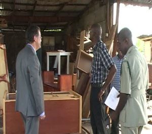 Canadian High Commissioner Visits State Prison Carpentry ...