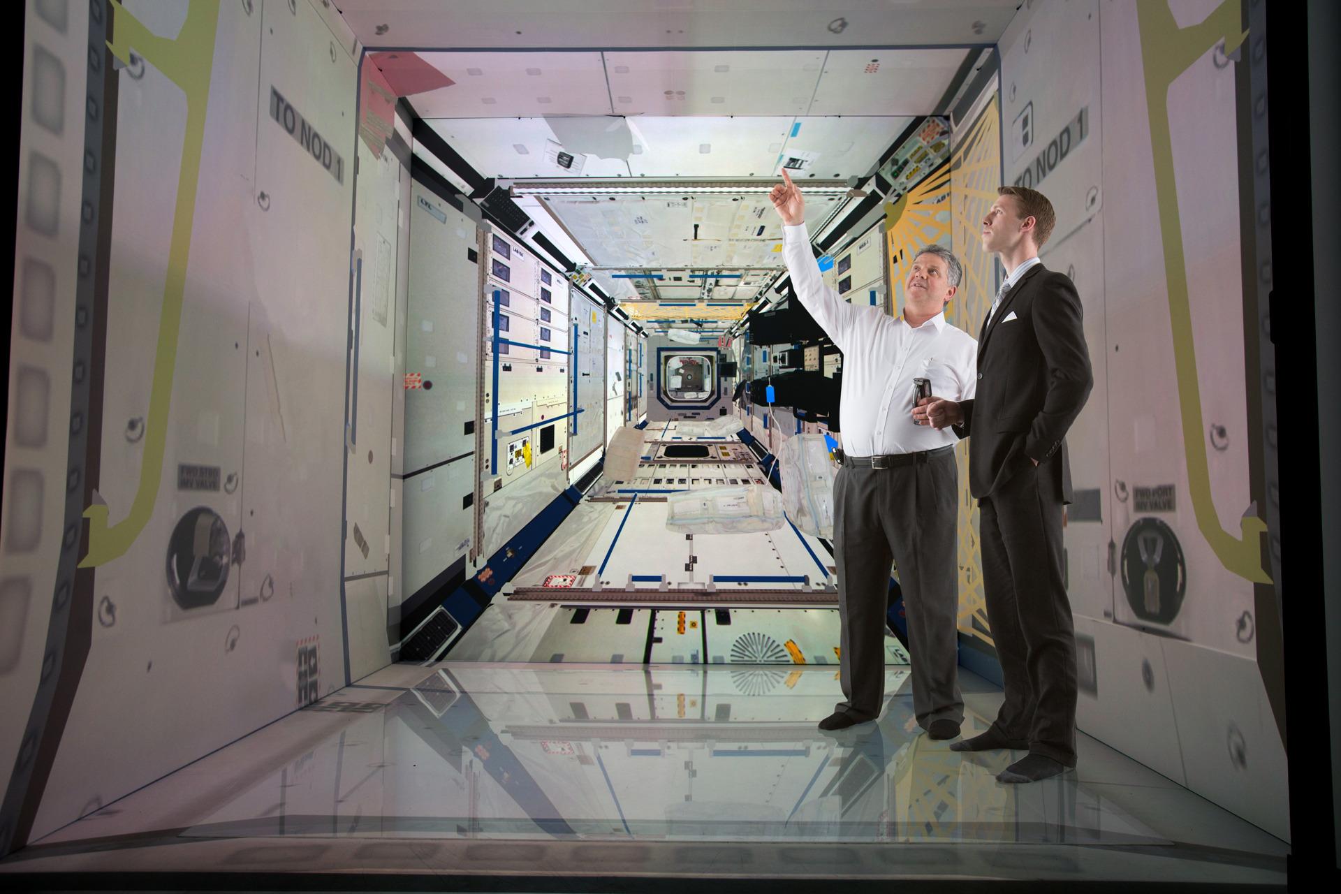 Iowa State University Virtual Reality System Simulates The