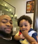 Davido's shares video of him playing with his son, Ifeanyi (video)
