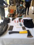 Two suspected cultists arrested with weapons in Ibadan