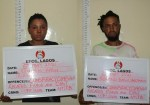 Two siblings arrested for alleged internet fraud in Lagos