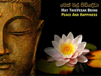 Period from April 30 to May 06 declared as Wesak week