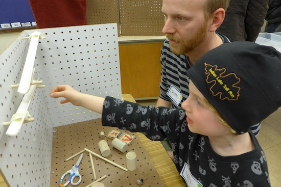 UW Physicist Works With Young Rube Goldbergs At Madison
