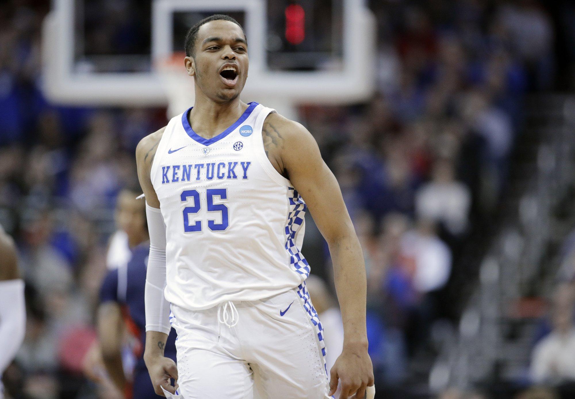Auburn Tops Kentucky 77 71 In Ot For First Final Four Trip