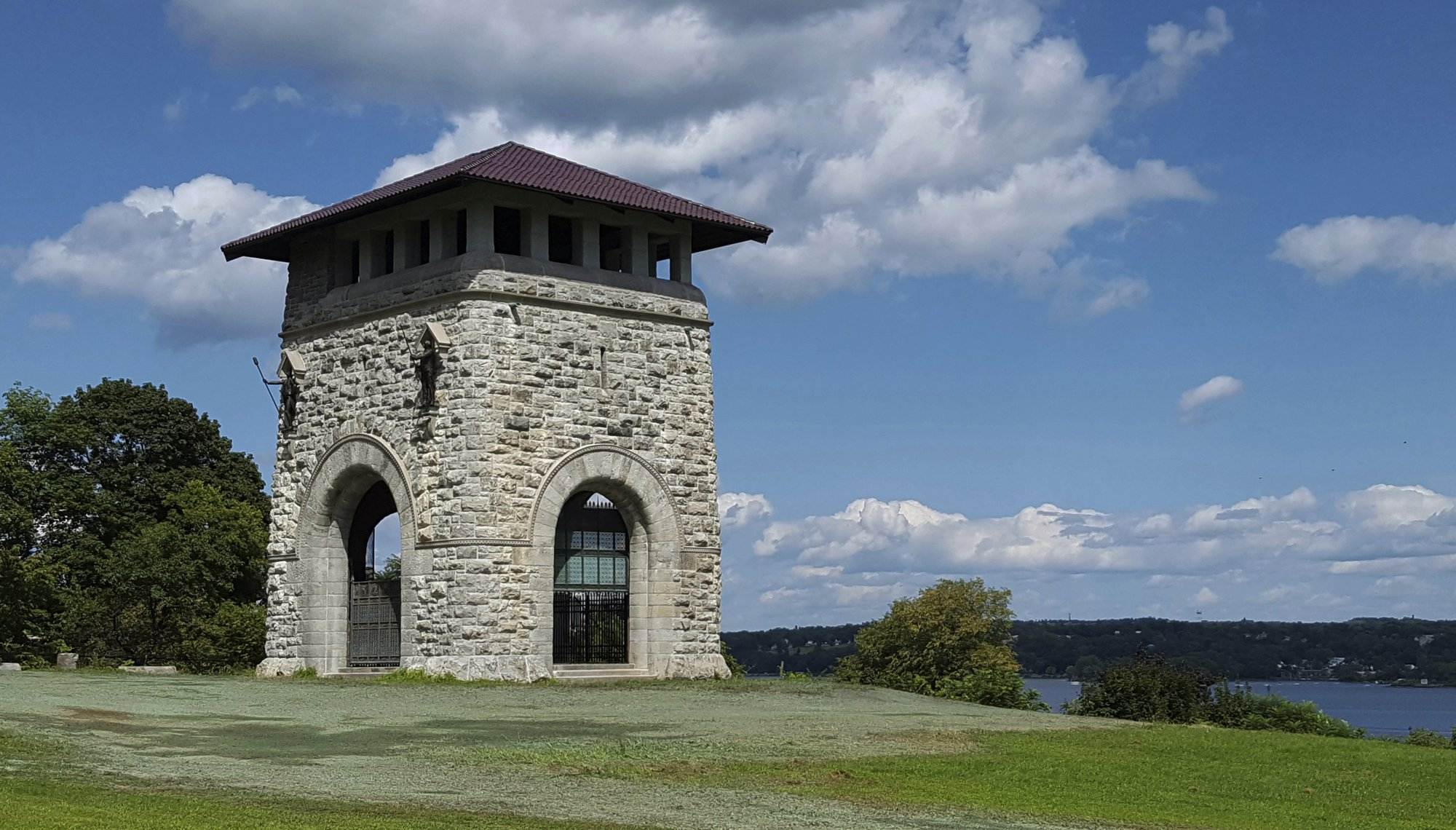 Aug. 23, 2018, photo provided by New York State Parks, Recreation & Historic Preservation shows the Tower of Victory in Newburgh, N.Y_1556279252066.jpeg.jpg