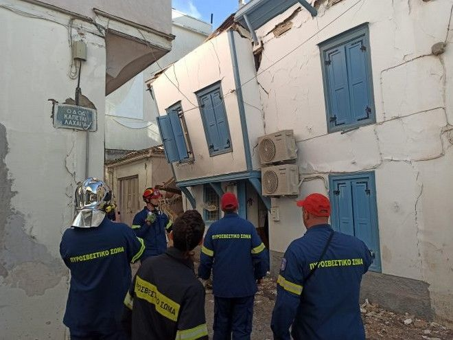 Σεισμός στη Σάμο: Νύχτα αγωνίας σε Σάμο και Σμύρνη - Τουλάχιστον 26 τα θύματα του Εγκέλαδου