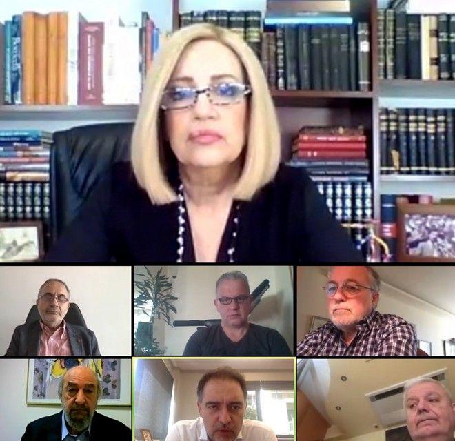 Τηλεδιάσκεψη της Φώφης Γεννηματά με το Ξενοδοχειακό Επιμελητήριο