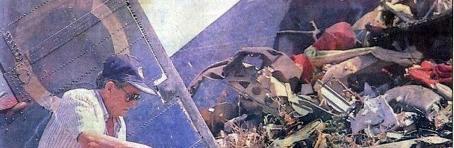 3 Αυγούστου 1989, Συντριβή αεροσκάφους