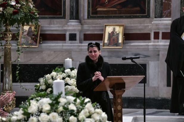 Κηδεία του ηθοποιού Κώστα Βουτσά στην Αθήνα την Παρασκευή 28 Φεβρουαρίου 2020. (EUROKINISSI/ΤΑΤΙΑΝΑ ΜΠΟΛΑΡΗ)