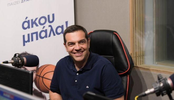 Τσίπρας στο Sport24 Radio 103,3: Η 7η Ιουλίου είναι άλλο ματς - Να μη γυρίσουμε στα χρόνια Σαμαρά