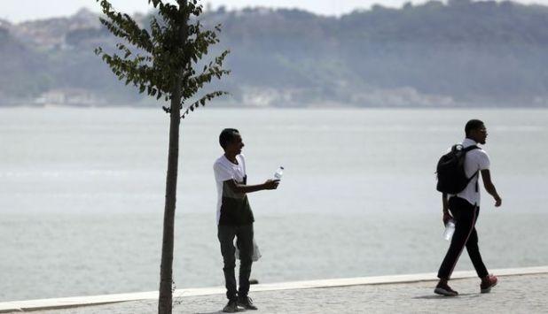 Θερμοκρασίες ρεκόρ στην Πορτογαλία