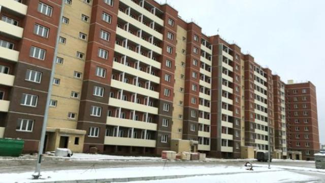 На фото: строящийся в округе Майская Горка жилой комплекс «Новый квартал»