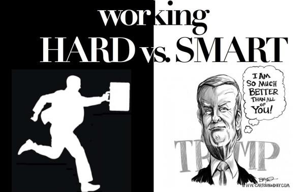 Work Hard or Smart