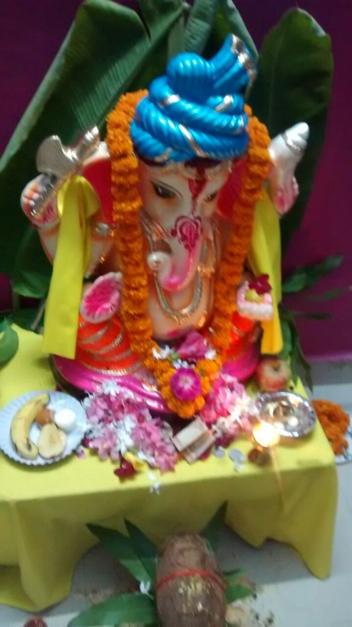 Ganpati Utsav celebration in our Digital Society – IFFCO TOWNSHIP Phulpur, Allahabad