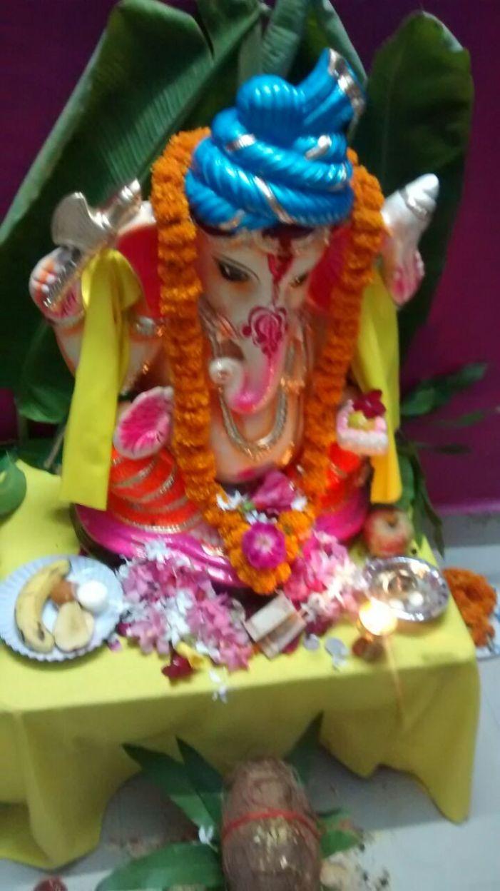 Ganpati Utsav celebration in our Digital Society – IFFCO TOWNSHIP Phulpur, Allahabad