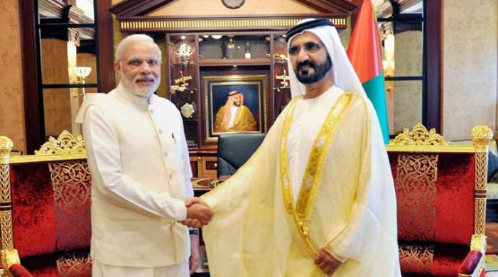 Republic Day celebration with open arms: Modi hugs Abu Dhabi Crown Prince