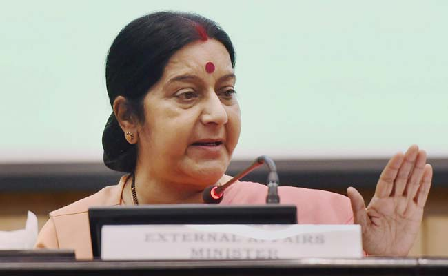 Sushma Swaraj talks to US Secretary of State Rex Tillerson; India, US resolve to fight against terrorism