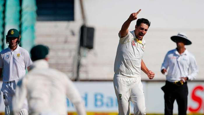 South Africa v/s Australia: Mitchell Starc's five-for puts visitors in total control on Day 2