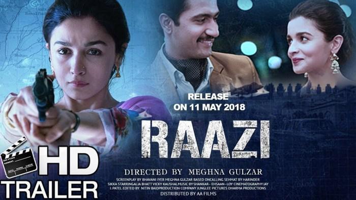 Raazi Movie Review: Alia Bhatt's 'Raazi' will make you rush to the cinema hall