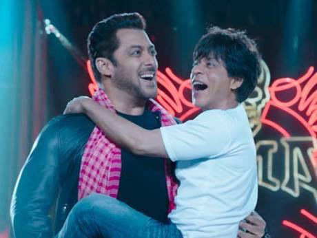 Shah Rukh, Salman Khan win Eid with 'Zero' jig