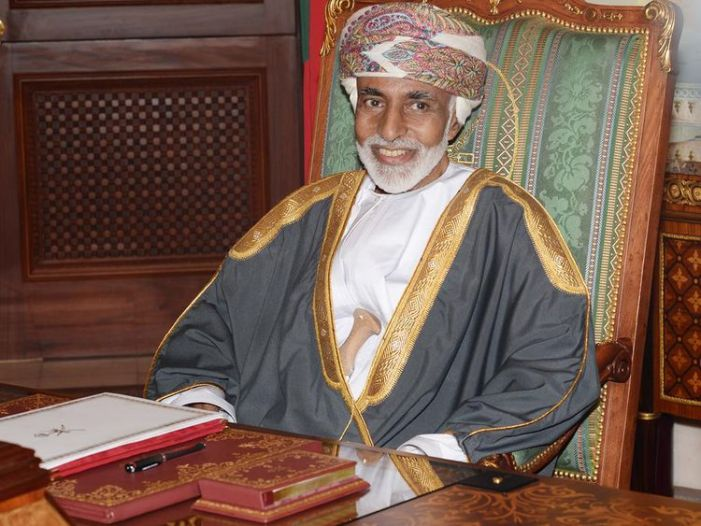 Sultan Qaboos of Oman dies aged 79: State media