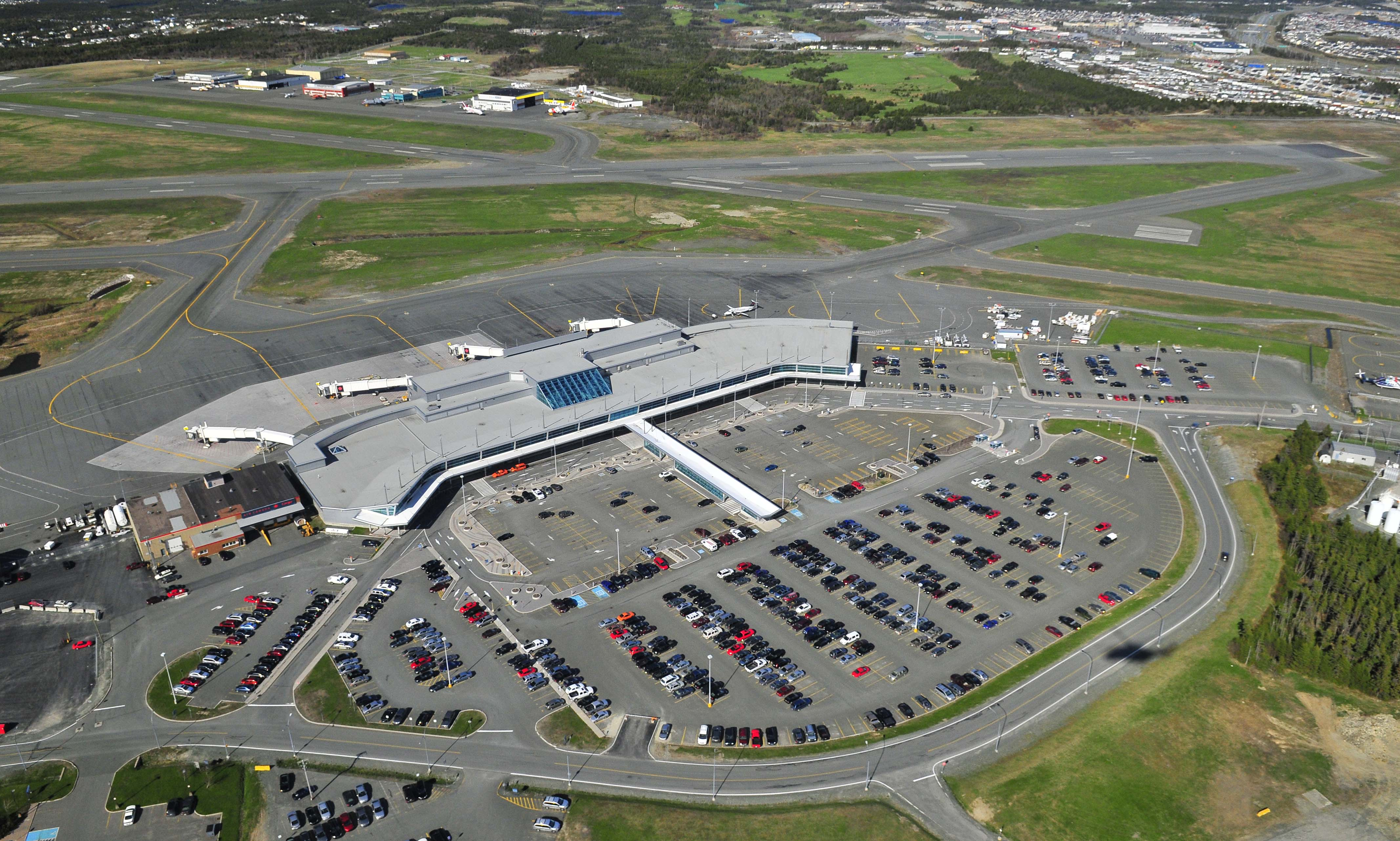 St John S N L Airport Reopens After Threat