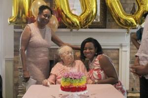 Cornelia McCullough celebrates 100th birthday