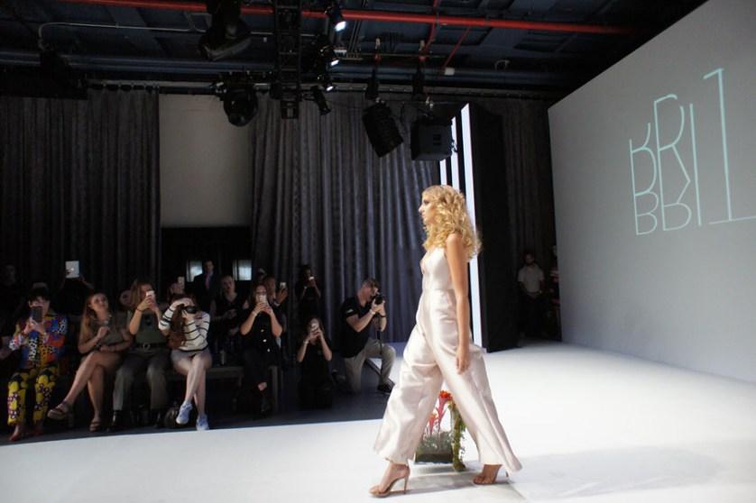 Trinity-Byrnes senior makes modeling debut