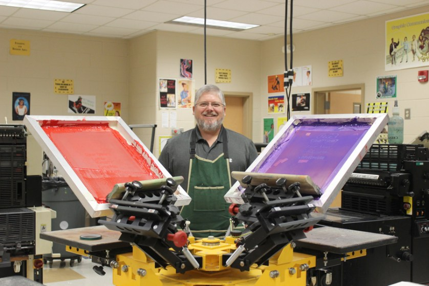 DCIT teacher uses love of art to help prepare students for their future