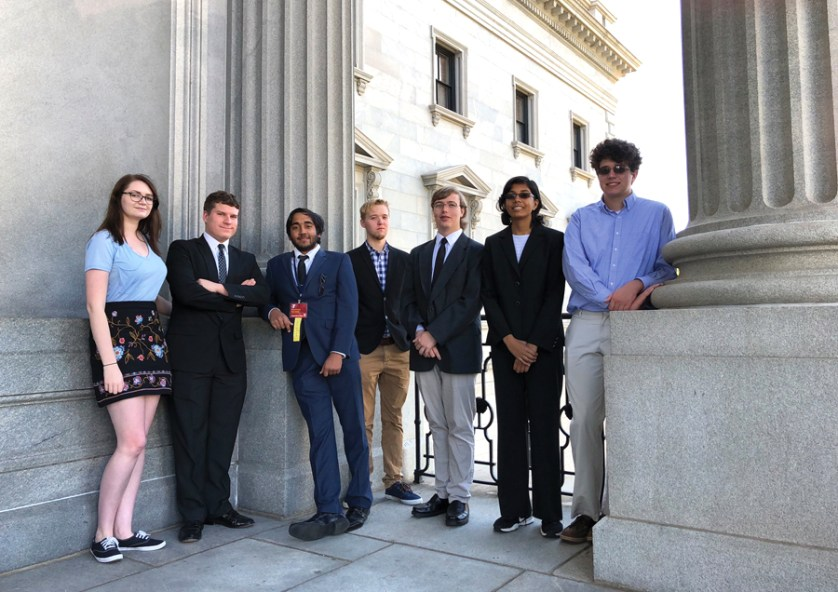 GSSM students shine at SC Capitol during Youth In Government Conference