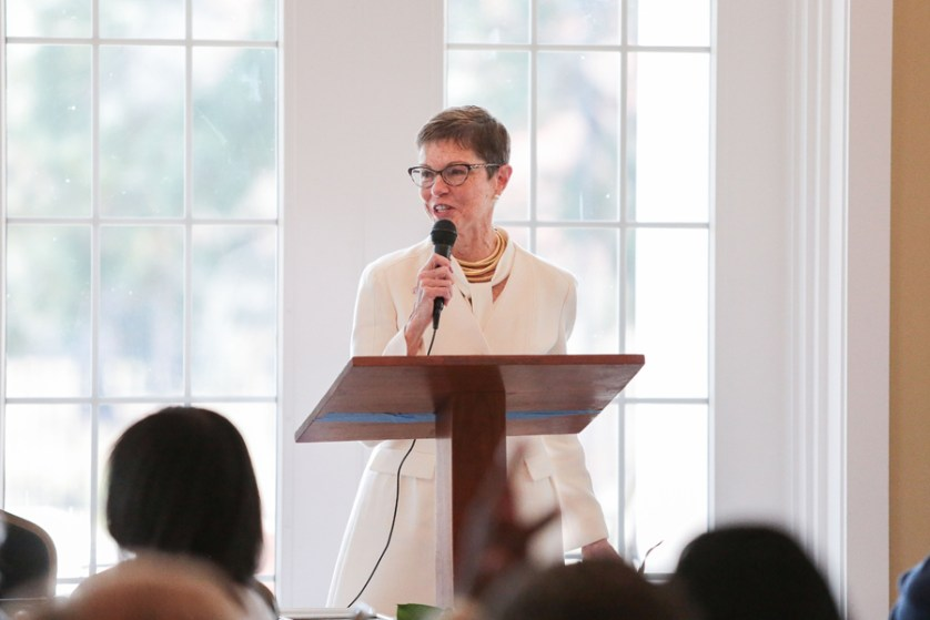 Willis speaks at Women's History luncheon