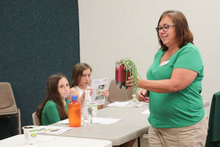 Brain Boosters Camp teaches container gardening