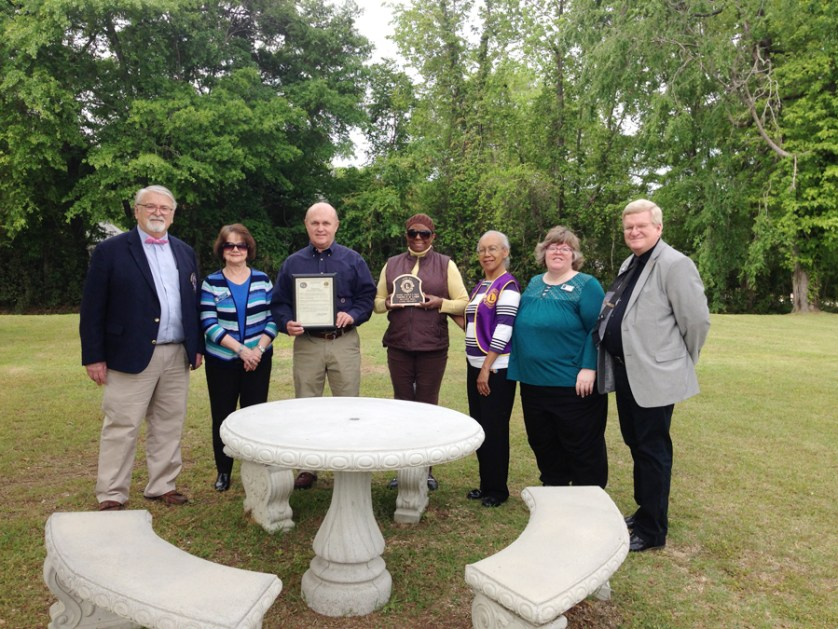 Lions Club makes donation to Society Hill Library