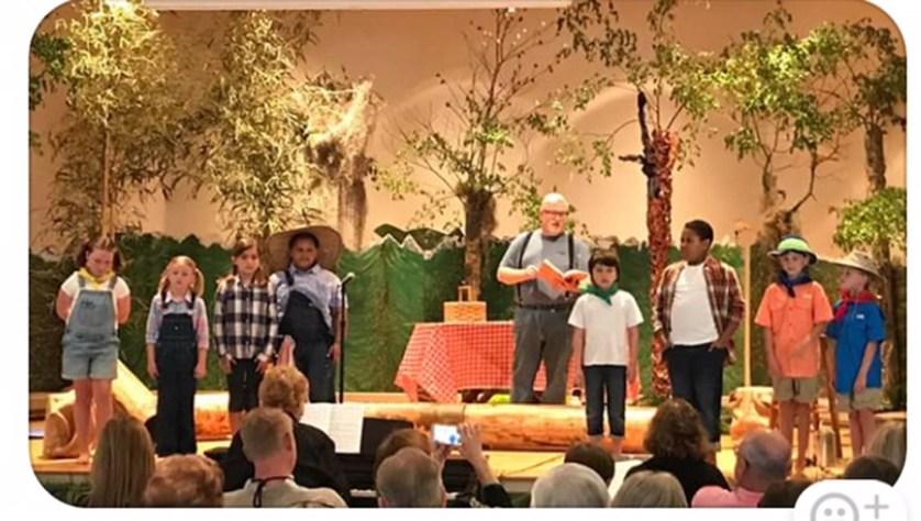 "Trinity United Methodist Church presented ""Down by the Creekbank"""