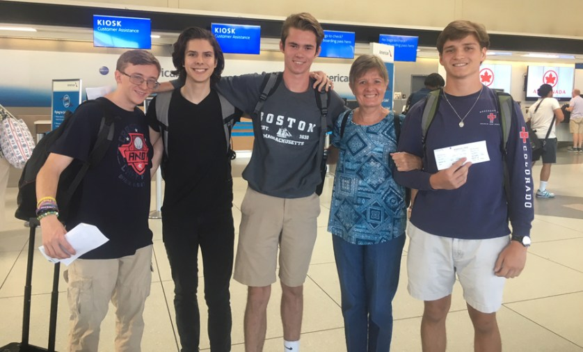 Students travel for National Classical League Convention