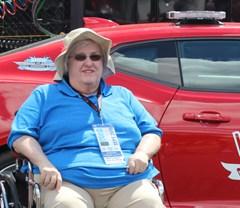 Life-long NASCAR fan  finally visits Darlington Raceway
